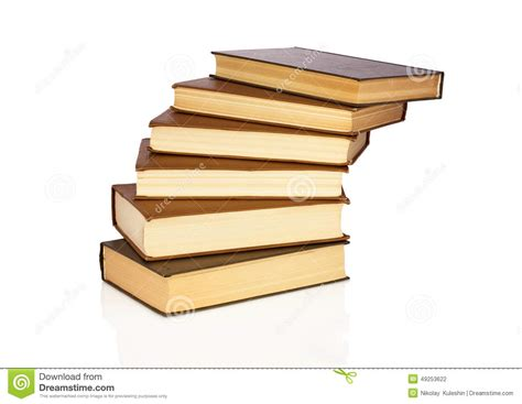 with books steps from books stock photo image 49253622