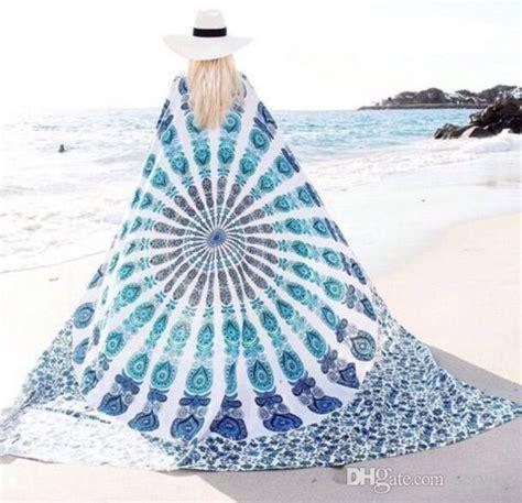 1 Kg 10 Pcs Boho Tassel Square Indiana Boho Murah compre playa pareos chal de la india mandala plaza tire a la tapicer 237 a hippy boho gitana