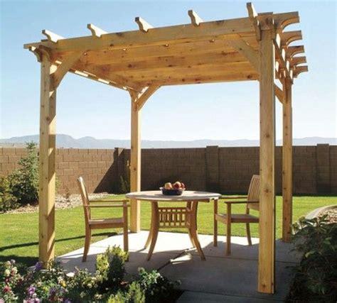 7 easy to make diy outdoor pergolas shelterness make
