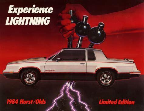 parts pair two 1984 hurst oldsmobiles