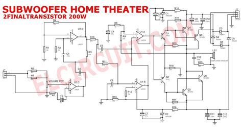 wiring diagram wiring diagram subwoofer home theater