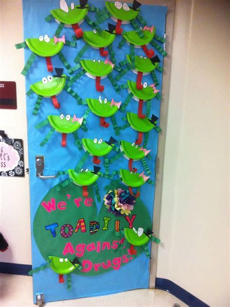 ribbon week door decoration 2012 school stuff