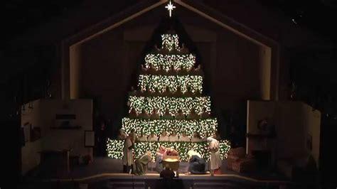 the living christmas tree youtube