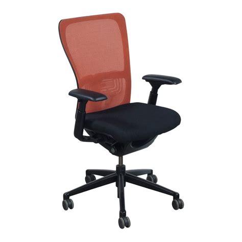 zody task chair warranty haworth zody used orange back task chair black seat