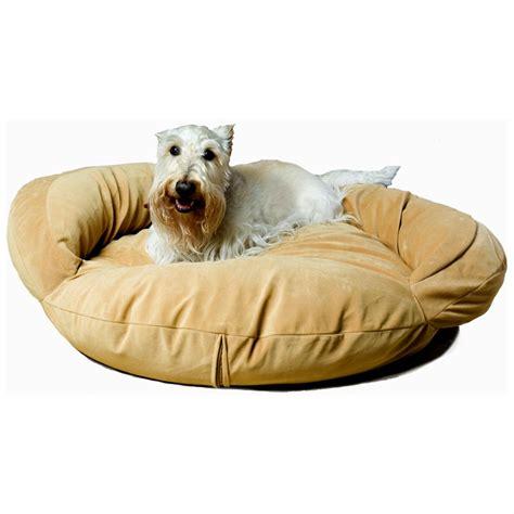 bolster bed carolina pet co 174 microfiber bolster bed 138520 kennels beds at sportsman s guide