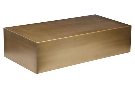 brass coffee table cube brass coffee table home and office furniture