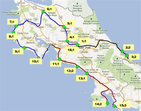 san jose pacifico map san jose pacifico map 28 images costa rica map sol y