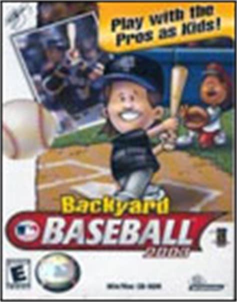 Backyard Baseball Mac Torrent by Backyard Baseball 2003 Or 2001 2015 Best Auto Reviews