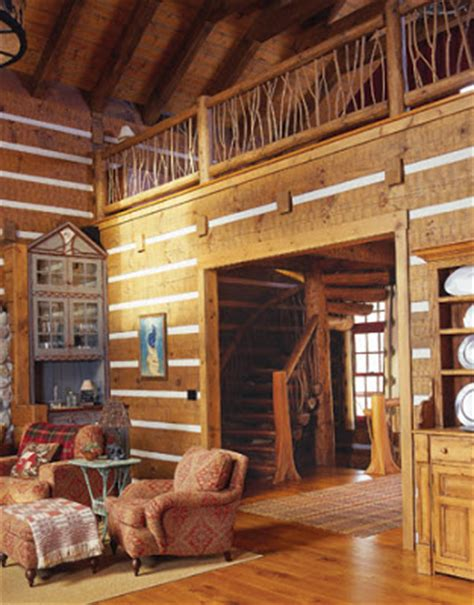 log home interior design ideas and log home interiors