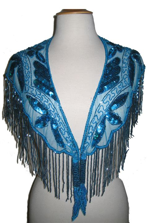beaded wraps shawls dress in style beaded capelet shawl with fringe more