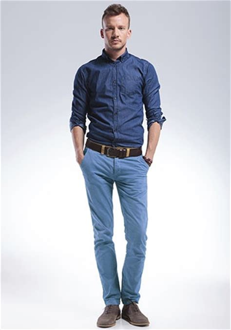Would You Wear A Mans Clothes by What Color Shirts Go Well With Blue