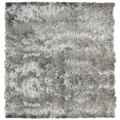 so silky rug home decorators collection so silky grey 7 ft x 7 ft area rug silky7x7gy the home depot