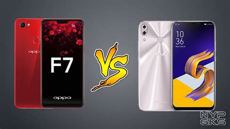 Hp Oppo Zenfone 5 oppo f7 vs asus zenfone 5 2018 specs comparison noypigeeks