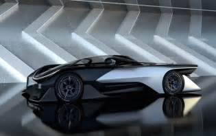 All Electric Cars In The Future 1000hp Faraday Future Fzero1 Ev Concept Racer Revealed