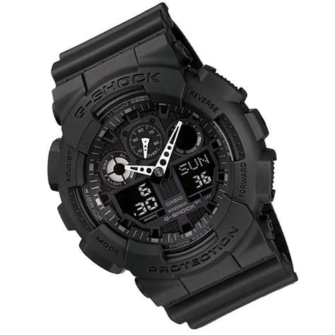 G Shock Ga100 1a1 casio g shock ga100 1a1 ga100 black digital resin
