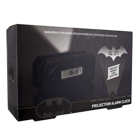 batman bat signal projection alarm clock
