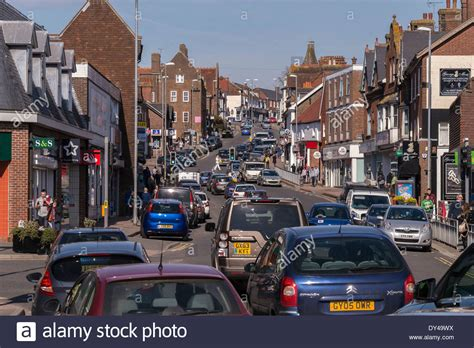 busy town centre high uckfield east sussex