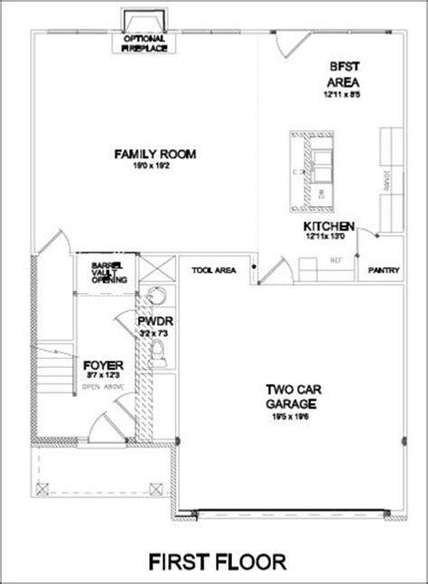 2 car garage square footage villas