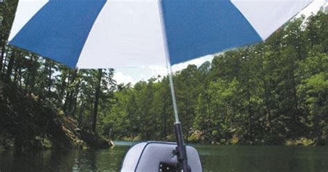 gander mountain jon boats real shade boat seat umbrella with bracket overton s