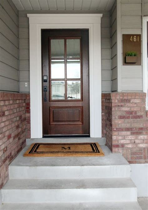 Exterior Door Trim Molding Best 25 Front Door Molding Ideas On Pinterest