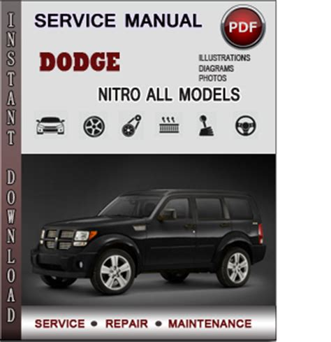 dodge nitro service repair manual download info service manuals