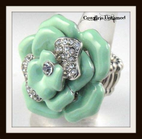 Anting Rhinestone Color Floral Ring ruffled floral empire waist halter style