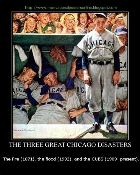 Chicago Cubs Memes - chicago cubs funny the three great chicago disasters the