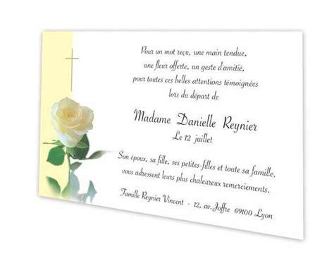 Modeles De Lettre Pour Condoleances Carte Remerciement D 233 C 232 S Condol 233 Ances Blanche Grenoble Is 232 Re Amalgame Imprimeur Graveur