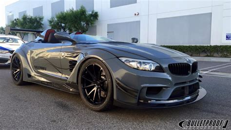 bulletproof bmw bulletproof automotive bmw z4 gt continuum stands out at
