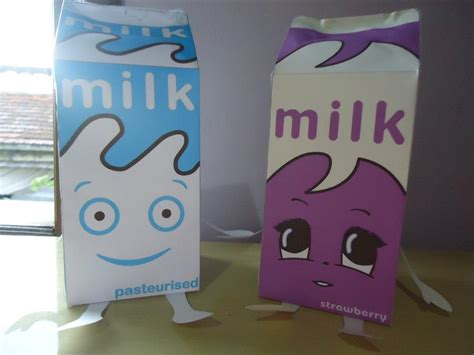 Milk Papercraft - coffee and tv milk papercraft by miekochan59 on deviantart