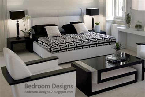 Bedroom Furniture Black And White 5 Black And White Bedroom Designs Ideas