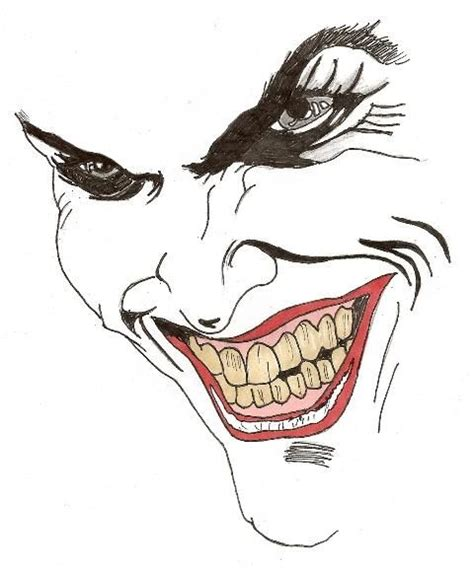 cartoon joker face drawing www pixshark com images