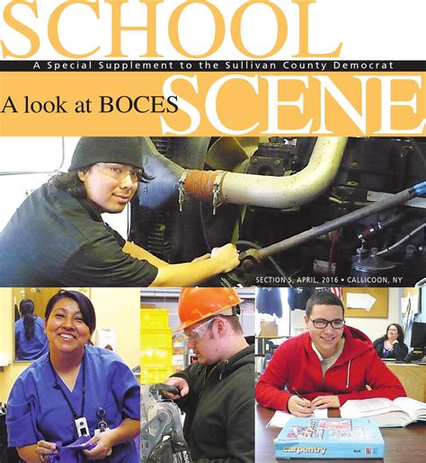 Boces 2016 By Sullivan County Democrat Catskill Delaware