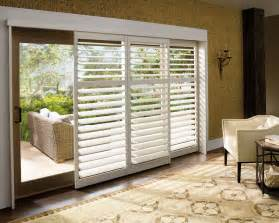 window treatments for sliding patio doors home
