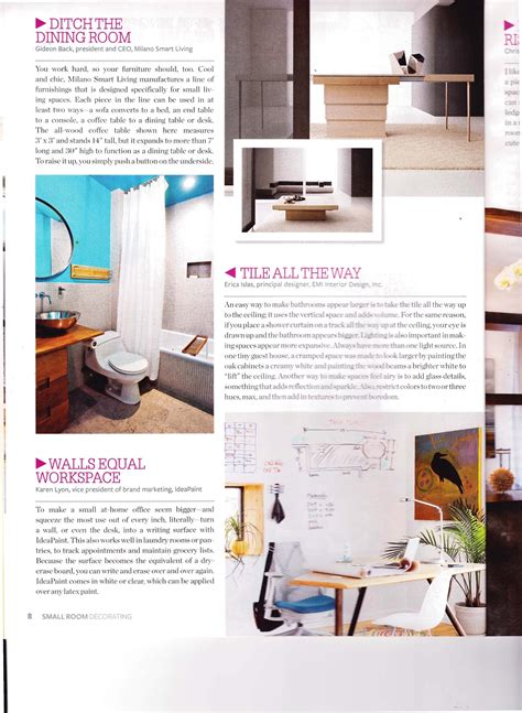 Small Space Decorating Magazine by Small Room Decorating Magazine Design Of Your House