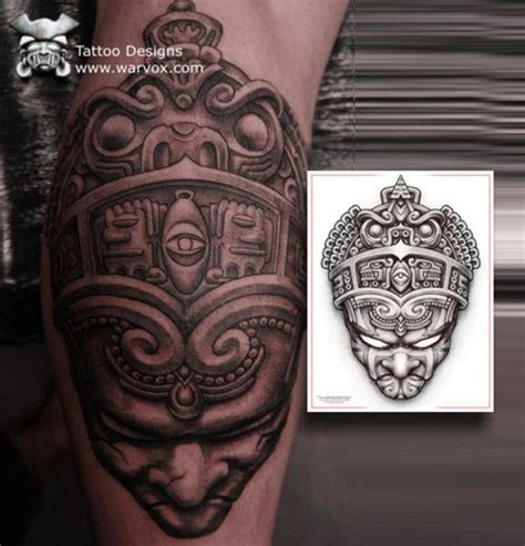 best 25 aztec designs ideas on aztec tribal tattoos arm tattoos and