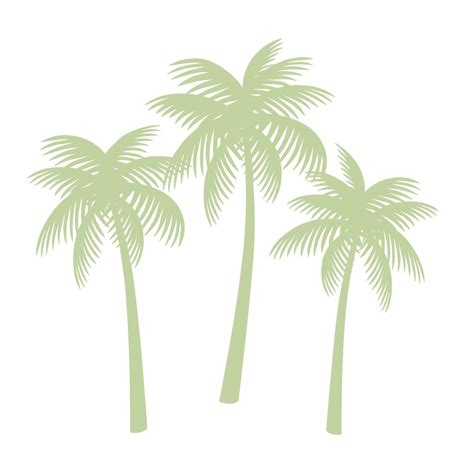 How To Paint Mural On Wall palm tree silhouettes paint by number wall mural