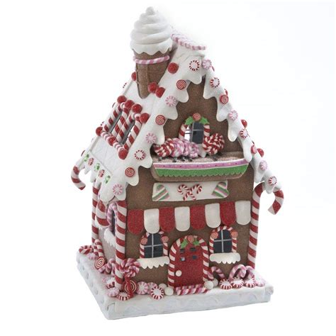 gingerbread house lights decorations lighted gingerbread house table decorations wikii