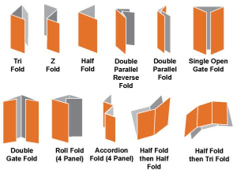 How To Fold Paper Like A Brochure - churchink church flyers and brochures