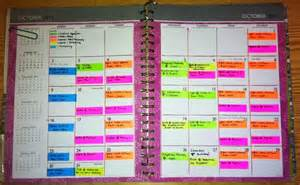color coded calendar operation organization professional organizer peachtree