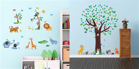 adesivi per armadi bambini adesivi murali bambini 15 stickers per la cameretta dei
