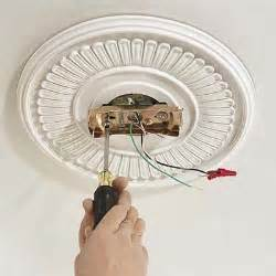 Mounting A Ceiling Fan Mount The Ceiling Plate How To Install A Ceiling Fan