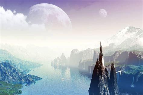 fondos de pantalla de paisajes bonitos imagui fondo pantalla lago fantasia 3d