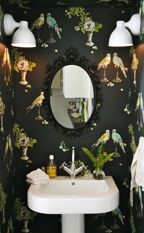 rocker bathroom 10 tips for rocking bathroom wallpaper