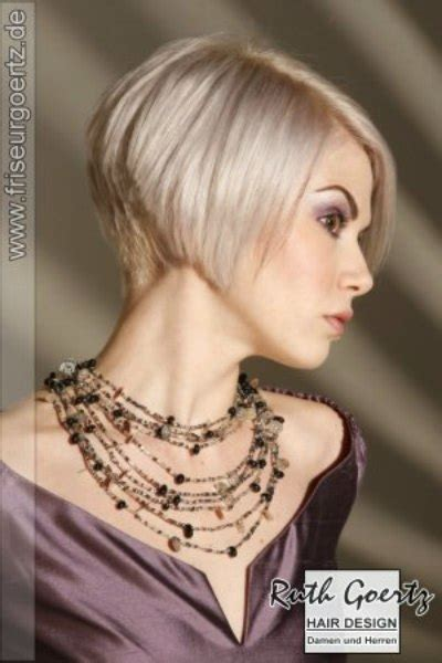 short angled bob beautiful long short hairstyle with a clipped nape to expose a beautiful