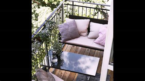 balkonmöbel für kleinen balkon balkon paletten idee