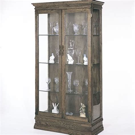 mission style curio cabinet mission style curio cabinet plans cabinets matttroy