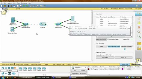 cisco packet tracer online tutorial cisco packet tracer tutorial 8 avi youtube