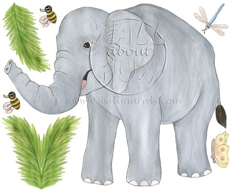 elephant wall murals elephant wall decals