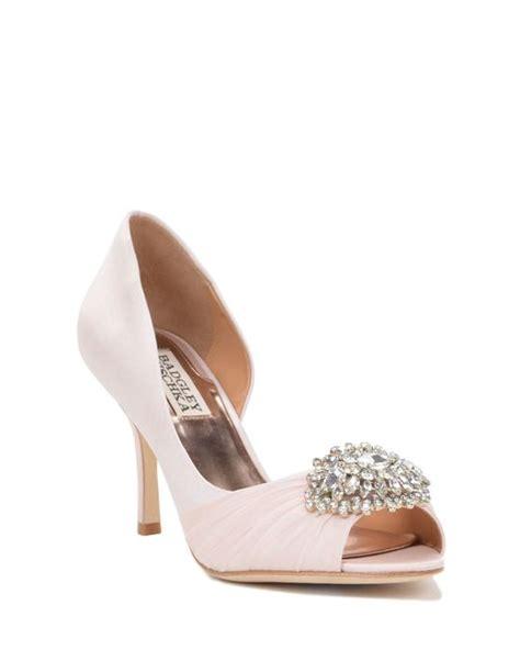 wide width bridal shoes badgley mischka pearson wide width embellished in